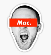 Mac Miller GO:OD AM x Supreme Sticker