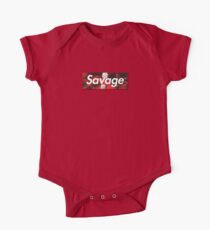 21 Savage Supreme Logo Kids Clothes