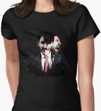 Escape Him Womens Fitted T-Shirt