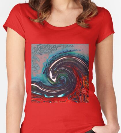 Wave 9 Fitted Scoop T-Shirt