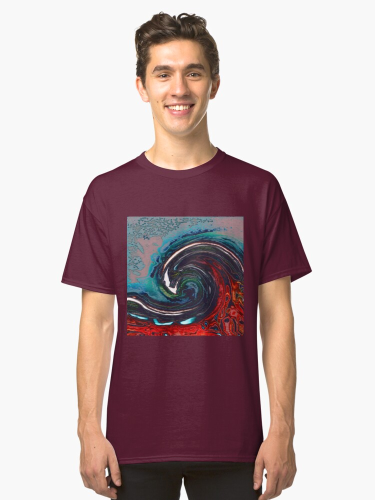 Alternate view of Wave 9 Classic T-Shirt