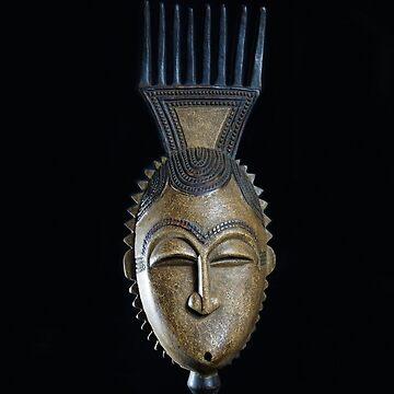 African Heritage - Comb Mask by beyondartdesign