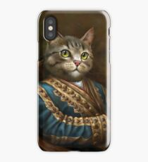 The Hermitage Court Outrunner Cat  iPhone Case/Skin