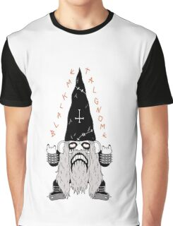 Black Metal Gnomo Graphic T-Shirt