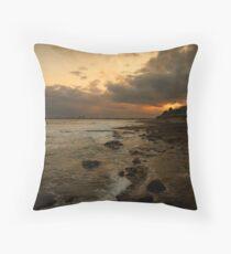 Caloundra Sunset Throw Pillow