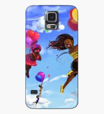 Carefree Black Girls Case/Skin for Samsung Galaxy