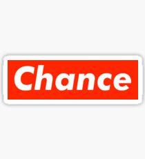 Chance the Rapper x Supreme Sticker
