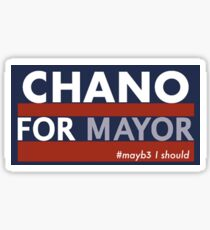 Chance the Rapper for Mayor Sticker