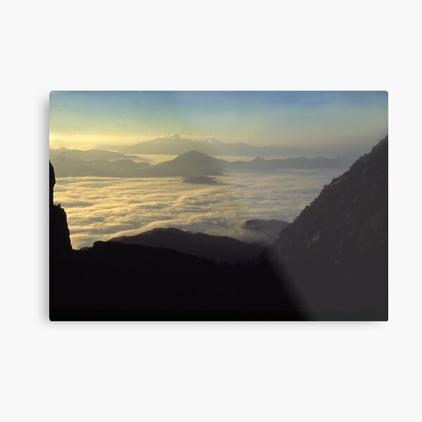 the Frenchmans Cap, sunrise west coast range. Metal Print