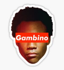 Childish Gambino x Supreme Sticker