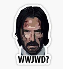 What Would John Wick Do? Sticker