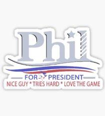 Phil Kessel for President Sticker