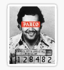 Pablo Escobar x Supreme Sticker