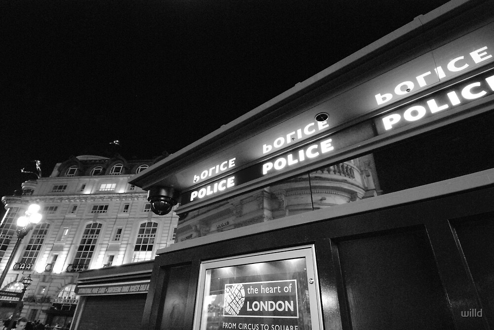 piccadilly police box by willd