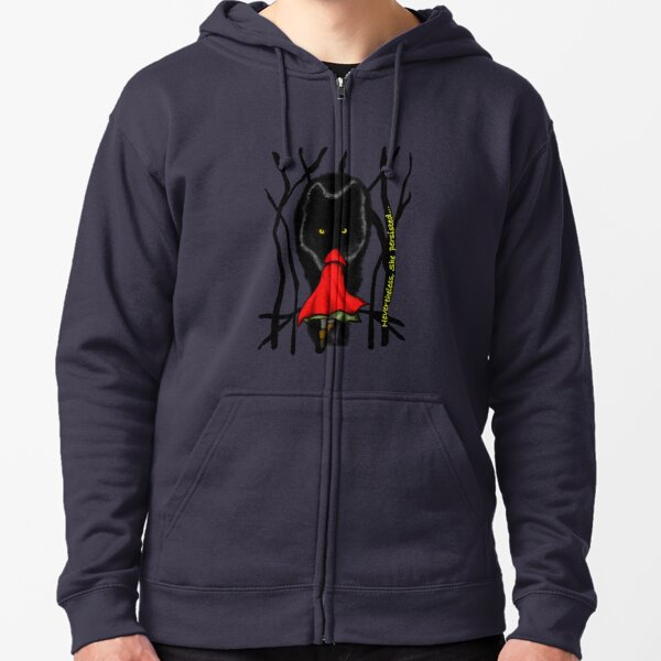 Nevertheless She Persisted Little Red Riding Hood Zipped Hoodie