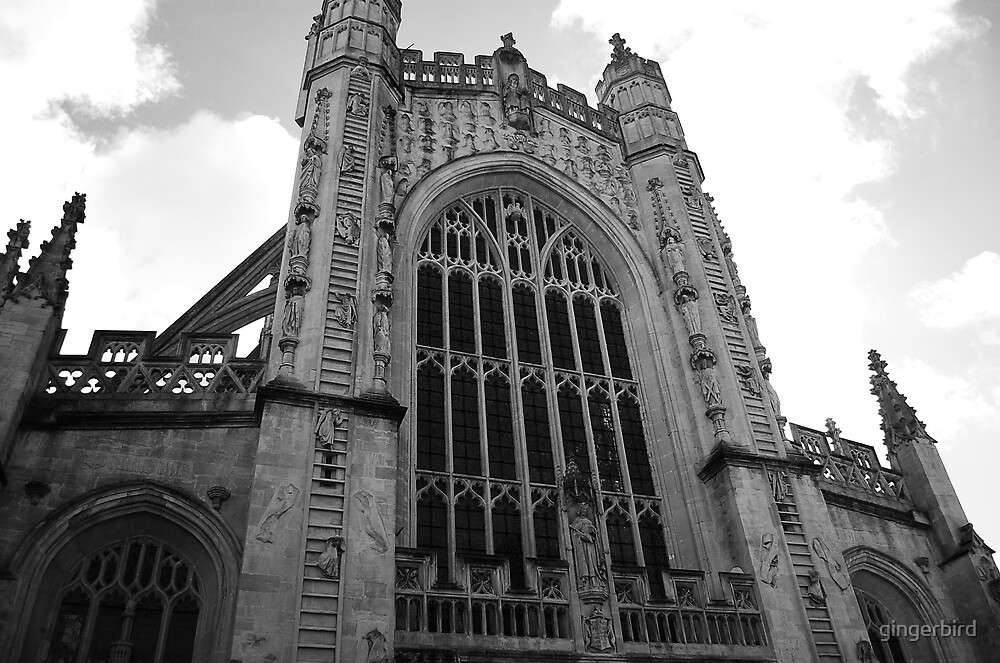 Bath Abbey iii by gingerbird