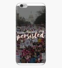 Nevertheless, she persisted phone case iPhone Case