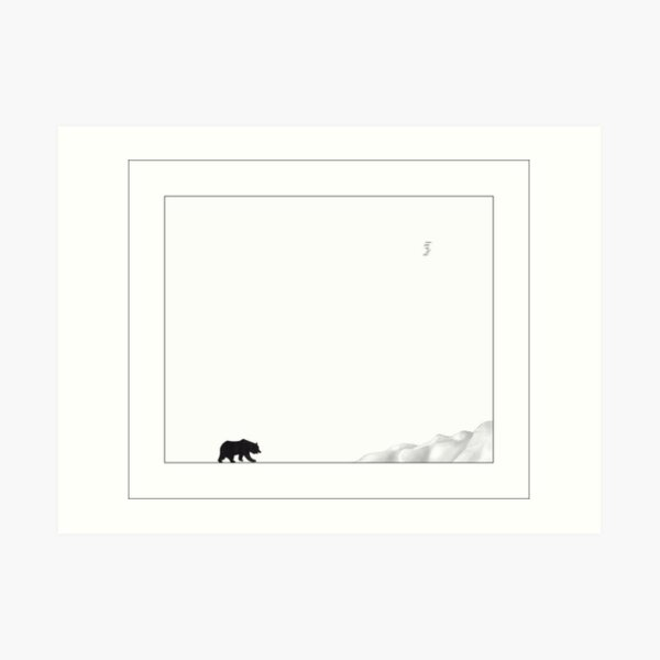 ...Alone... Art Print