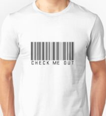 CHECK ME OUT Slim Fit T-Shirt