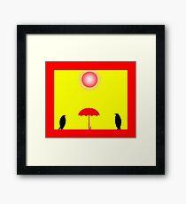 ...Penguin... Framed Print
