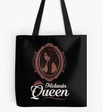 Sexy Melanin Queen Black Girl Magic African Poppin Tote Bag