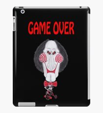 Horror Movie Game Over Caricature iPad Case/Skin