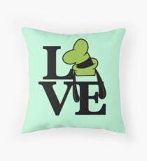 Goofy Love Throw Pillow