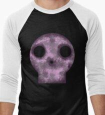 Purple Skull Decay Men's Baseball ¾ T-Shirt