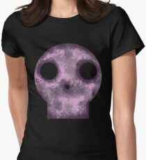 Purple Skull Decay Women's Fitted T-Shirt
