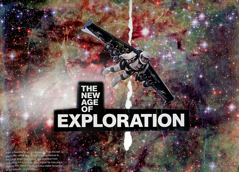 The New Age of Exploration by Emma Coath