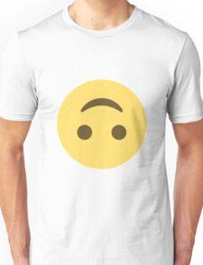 Upside Down Emoji Unisex T-Shirt