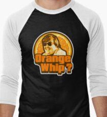 Orange Whip ? Men's Baseball ¾ T-Shirt