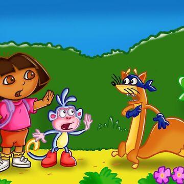 Dora X Wutang by HannahAryee