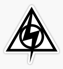 Deathly Hallows Potter Sticker