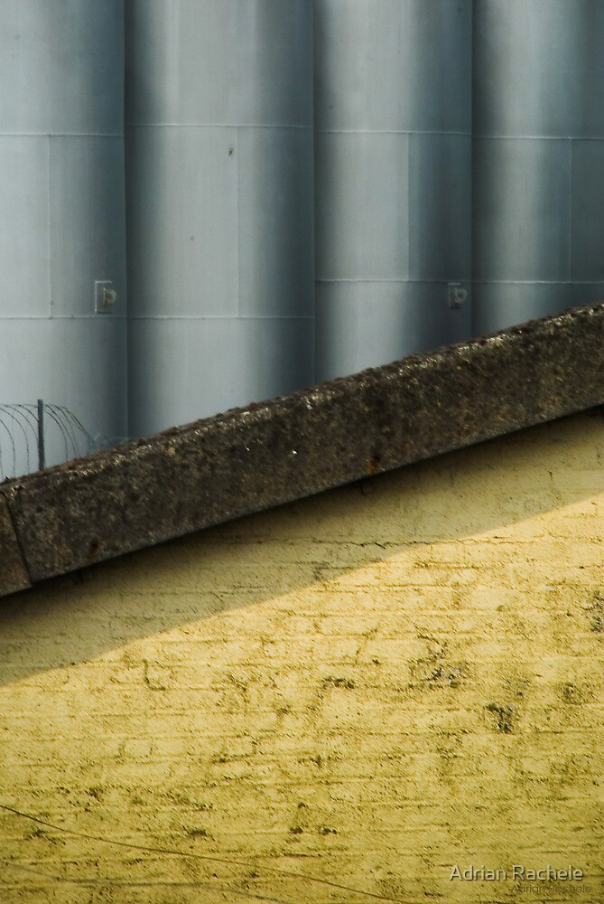 2012 London Olympic Pre-Demolition Yellow 1 by Adrian Rachele