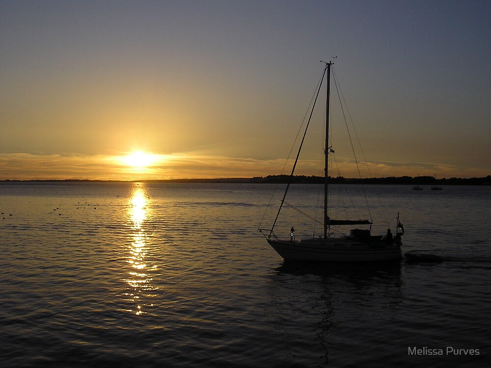 Sailing Into The Sunset by Melissa Purves
