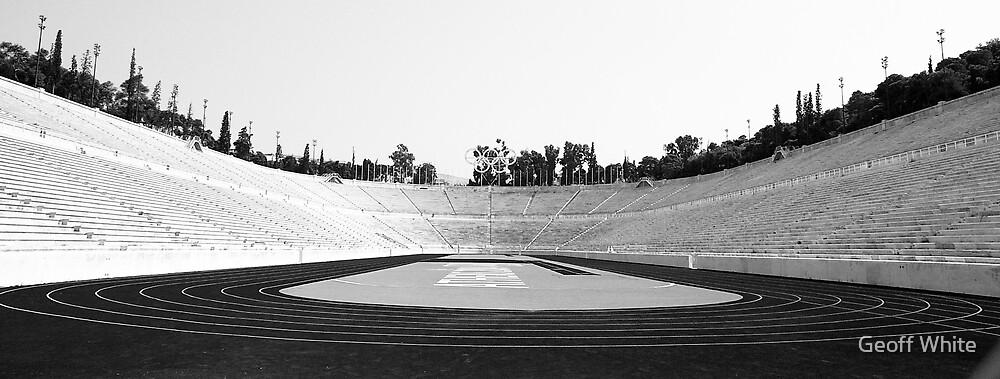 Panathinaiko Stadium by Geoff White