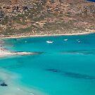 crete's balos beach by milena boeva