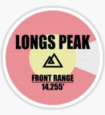 Longs Peak Sticker