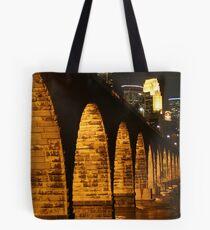 Minneapolis Stone Arch Bridge Tote Bag