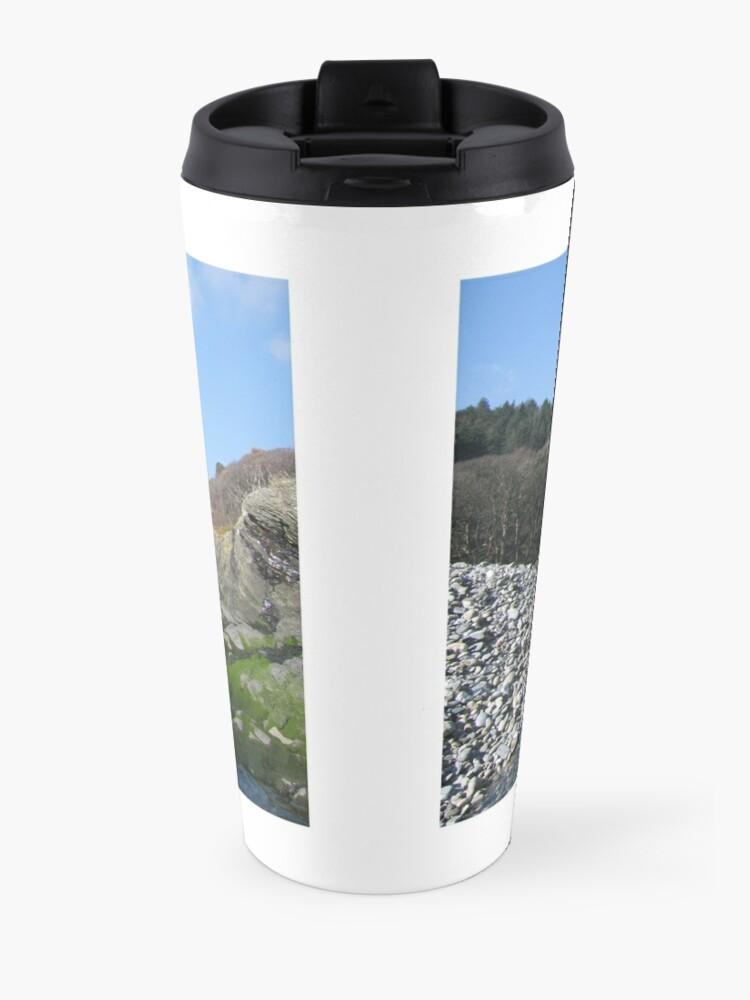 Alternate view of Port Cornaa Travel Mug