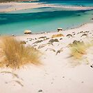 balos sandy beach,crete by milena boeva