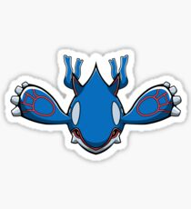 Pokémon Kyogre Sticker