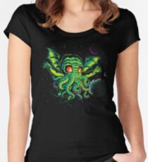 R'YLEH: NEVERDIE Women's Fitted Scoop T-Shirt