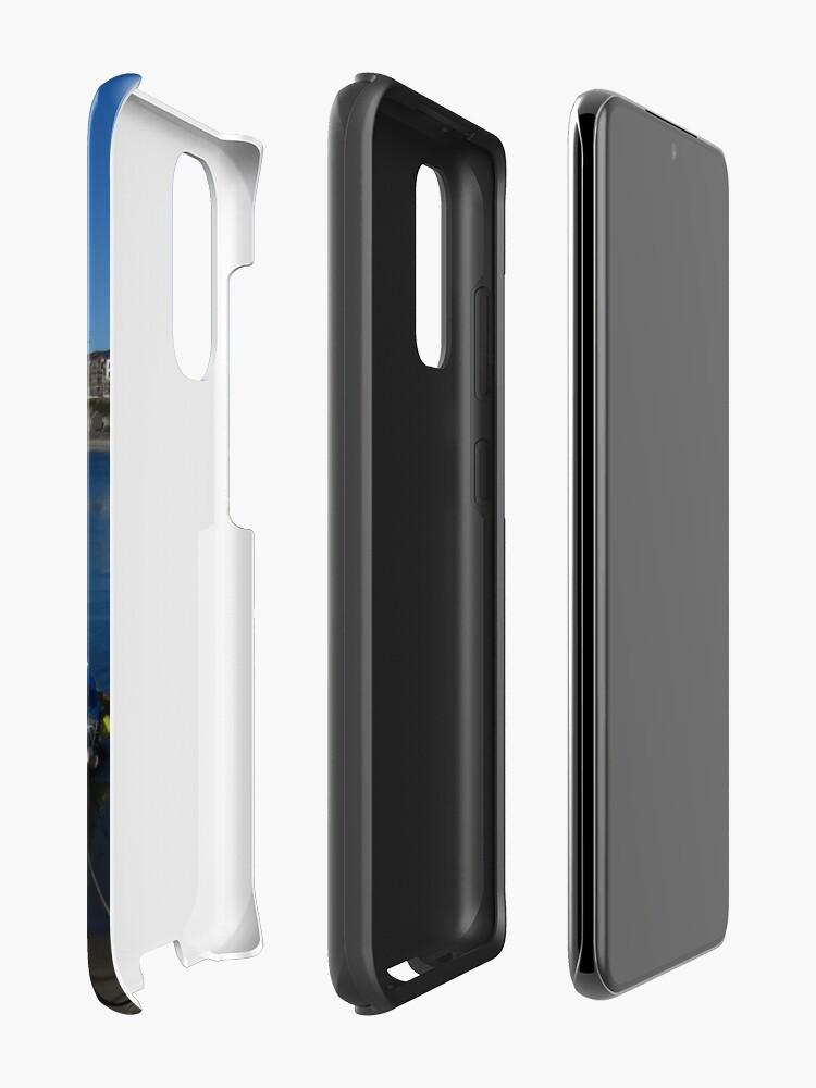 Alternate view of Port Erin Case & Skin for Samsung Galaxy