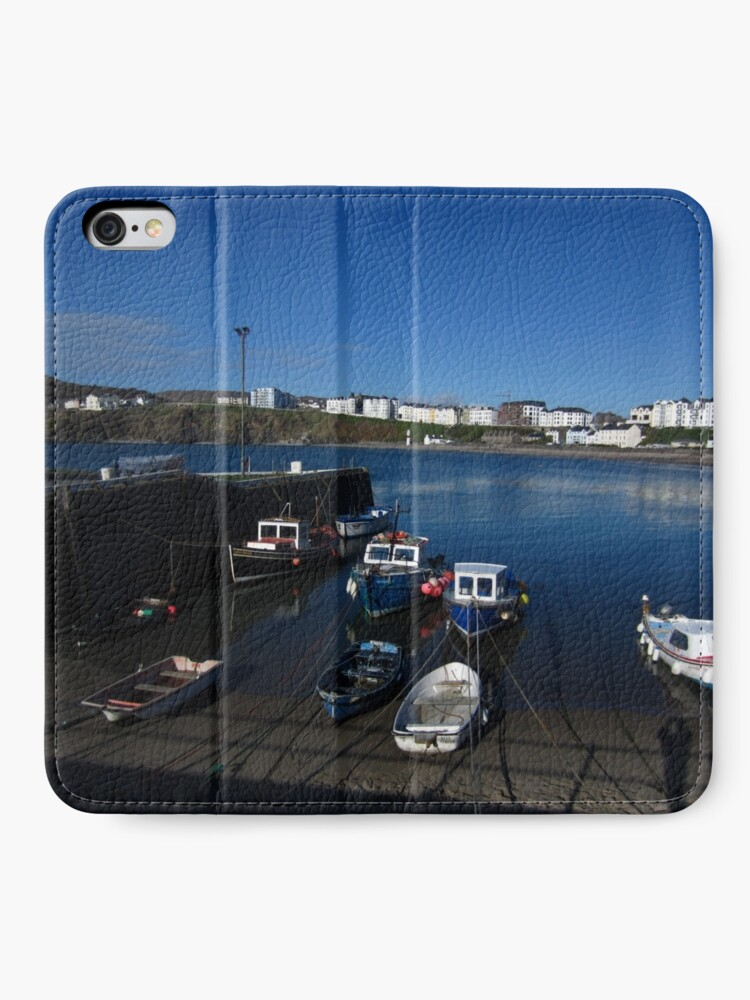 Alternate view of Port Erin iPhone Wallet