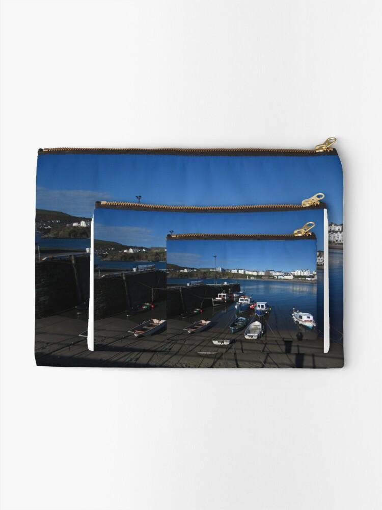 Alternate view of Port Erin Zipper Pouch