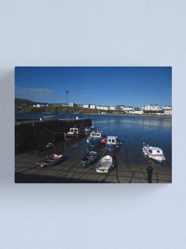 Alternate view of Port Erin Canvas Print