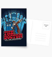 Doctor Pilgrim 10th Edition Postcards