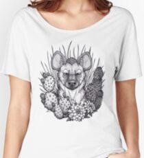 Hyena & Arid Plants Women's Relaxed Fit T-Shirt